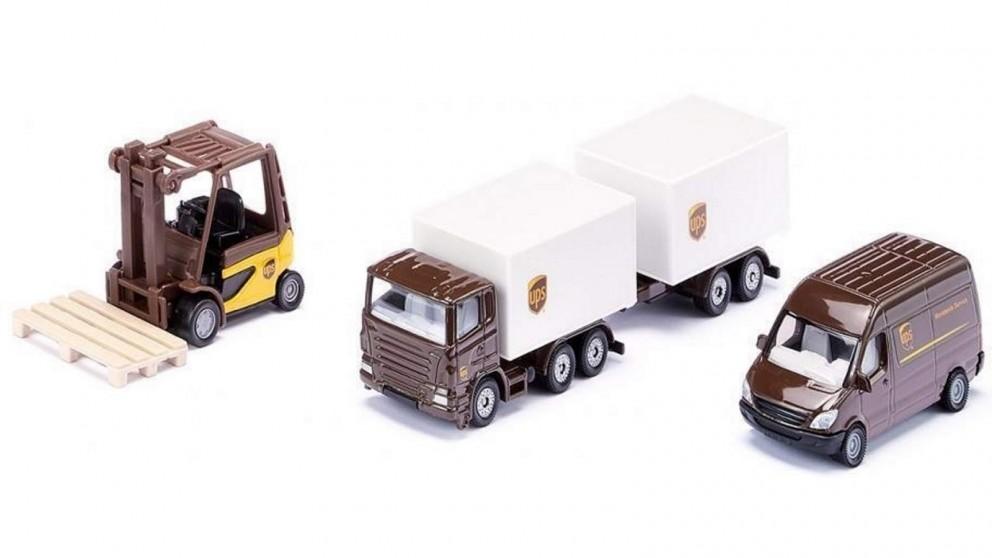 Siku UPS Logistics Set
