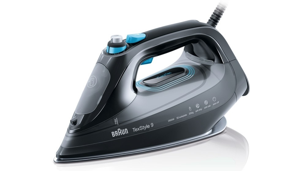 Braun TexStyle 9 Steam Iron with Smart Textile Protection