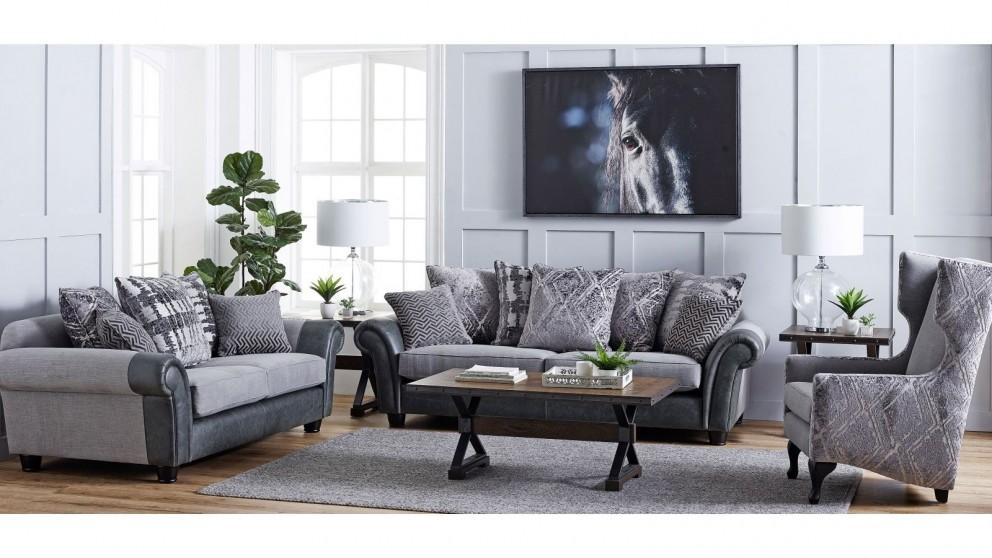 Buy Bantry 3-Seater Fabric Sofa | Harvey Norman AU