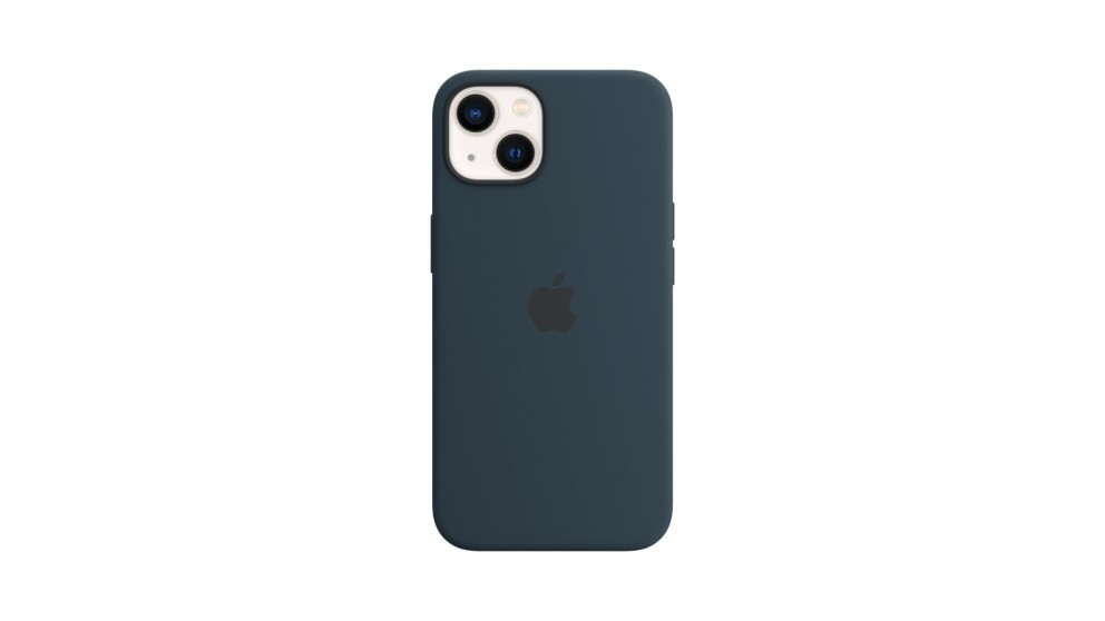 Apple iPhone 13 Silicone Case with MagSafe - Abyss Blue