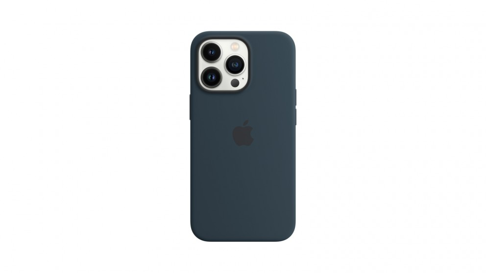 Apple iPhone 13 Pro Silicone Case with MagSafe - Abyss Blue