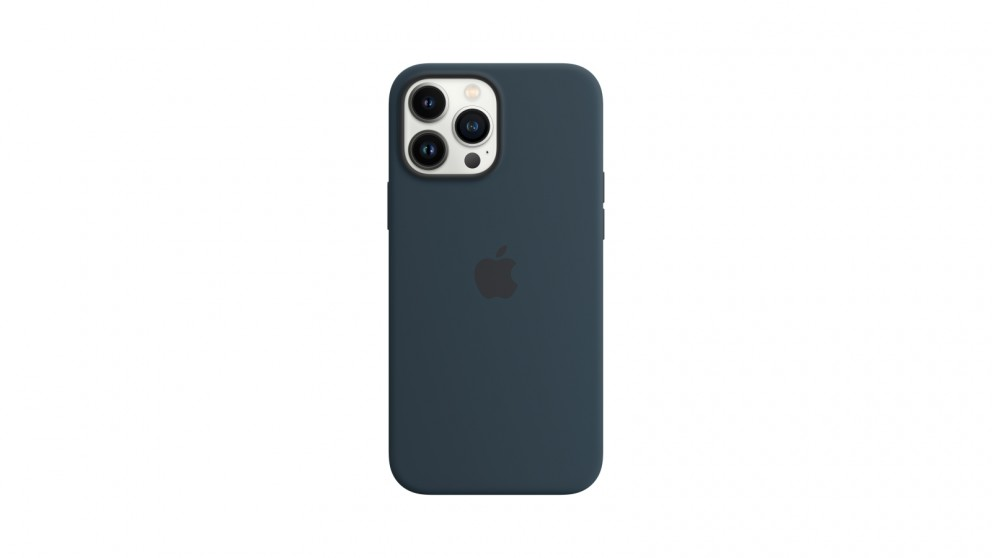 Apple iPhone 13 Pro Max Silicone Case with MagSafe - Abyss Blue