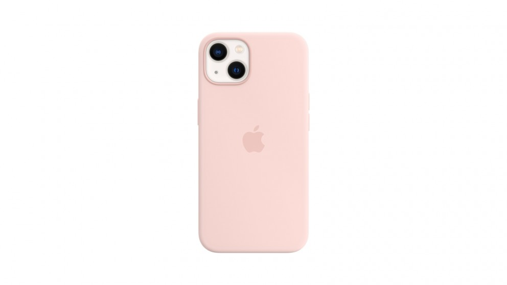 Apple iPhone 13 Silicone Case with MagSafe - Chalk Pink