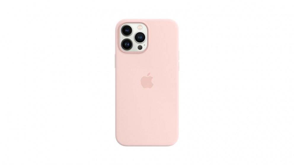 Apple iPhone 13 Pro Max Silicone Case with MagSafe - Chalk Pink
