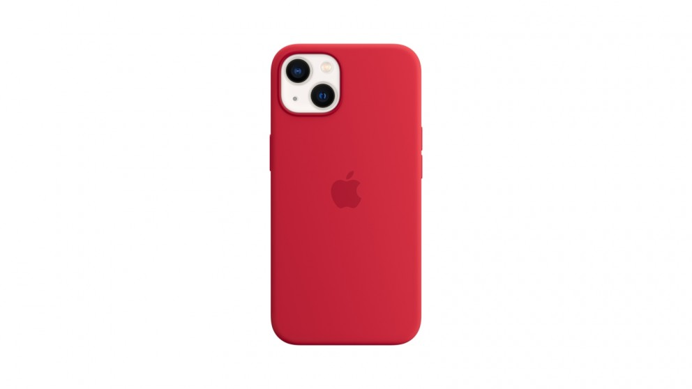Apple iPhone 13 Silicone Case with MagSafe - Product(RED)