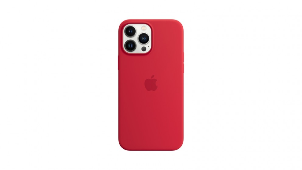 Apple iPhone 13 Pro Max Silicone Case with MagSafe - (Product)Red