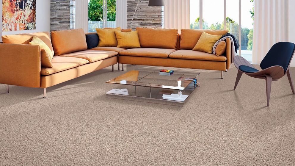Smartstrand Silk Forever Clean Silk Selection Mushroom Cap Carpet Flooring