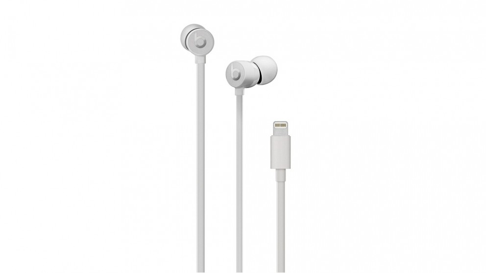 buy beats urbeats3 in ear headphone with lightning connector satin silver harvey norman au. Black Bedroom Furniture Sets. Home Design Ideas