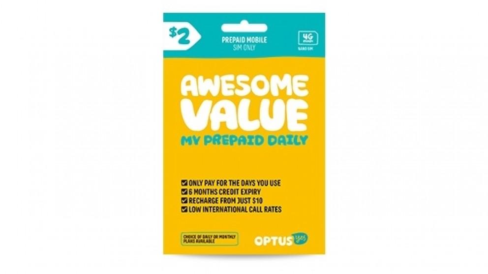 Optus 2 Pre Paid Nano Sim Starter Kit Sim Cards Phones Phones Accessories Gps Harvey