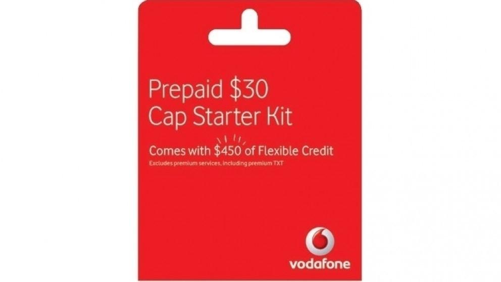 Vodafone $30 Nano Starter Pack