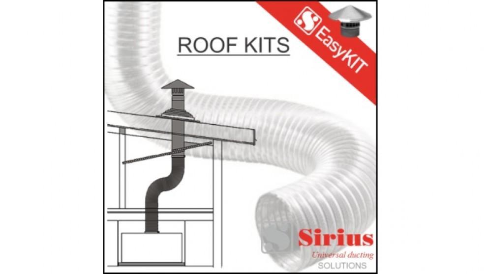 Sirius 150mm Easy Tiled Roof Ducting Kit