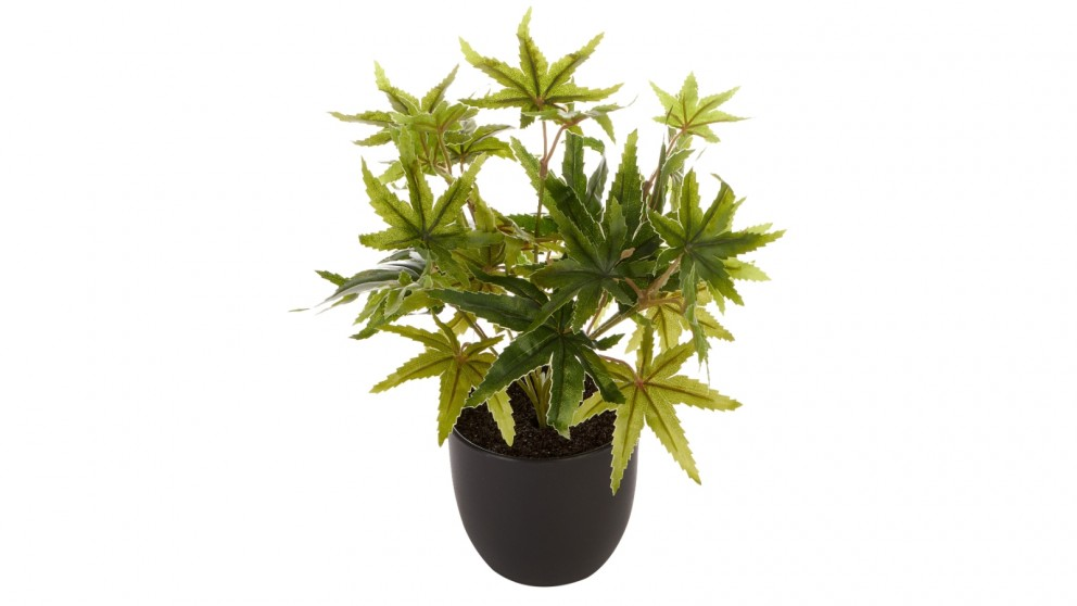 Cooper &Co. Tall Potted Artificial Maple Decor Fake Plant Indoor - 24cm