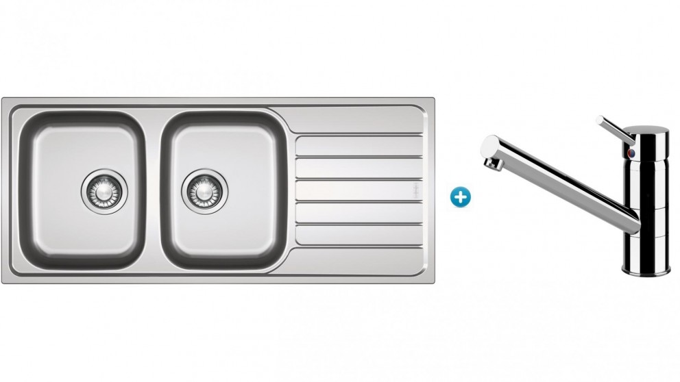 Franke Spark Inset Sink Package with Eclipse Swivel Mixer Tap