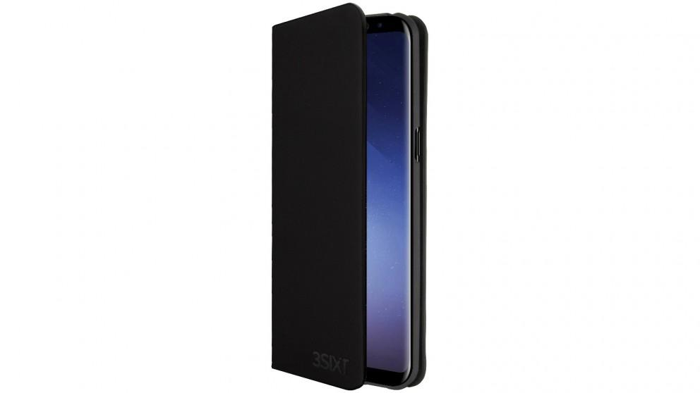 3SIXT SlimFolio - Black - Samsung S9+