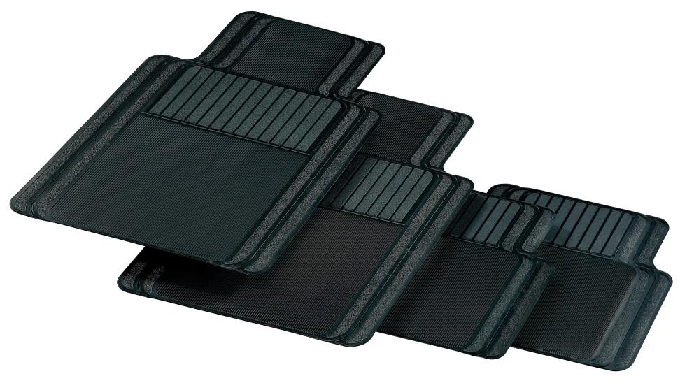 Carfit Slimline Rubber Car Floor Mat 4 Piece Set