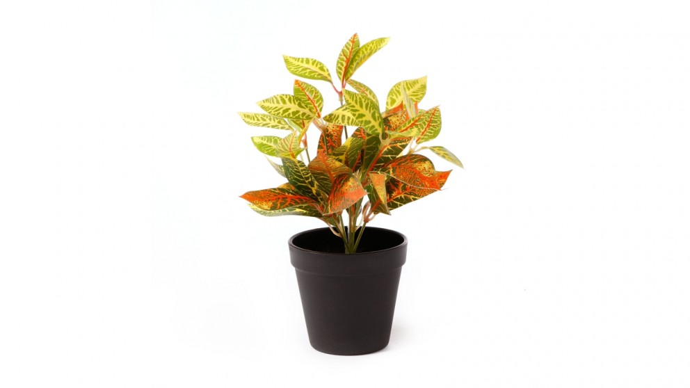 Cooper & Co. Artificial Bayan Leaf Potted Plant -28cm
