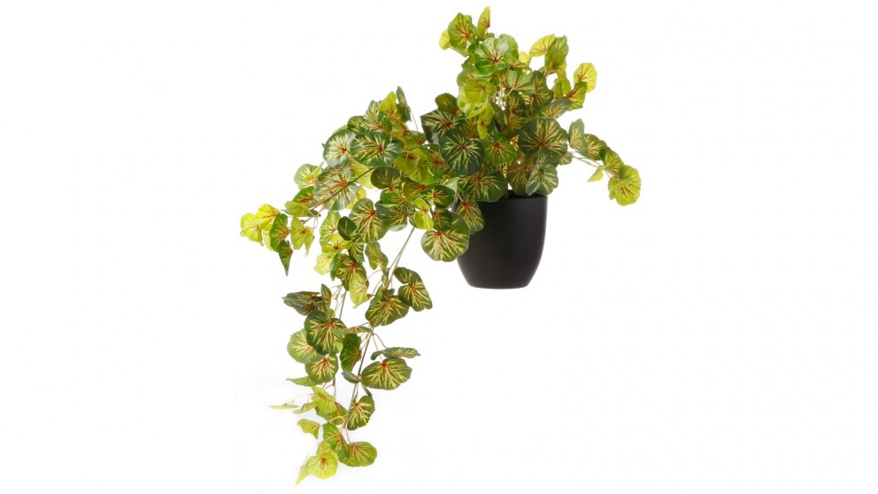 Cooper & Co. Artificial Chaenomeles Hanging Leaf Potted Plant - 78cm