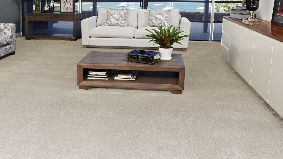 SmartStrand Silk Forever Clean Silk Trends Early Frost Carpet Flooring