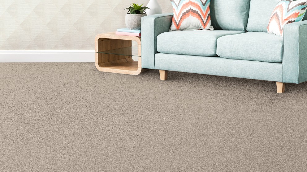 SmartStrand Silk Forever Clean Silk Trends Tonal Polished Pearl Carpet Flooring
