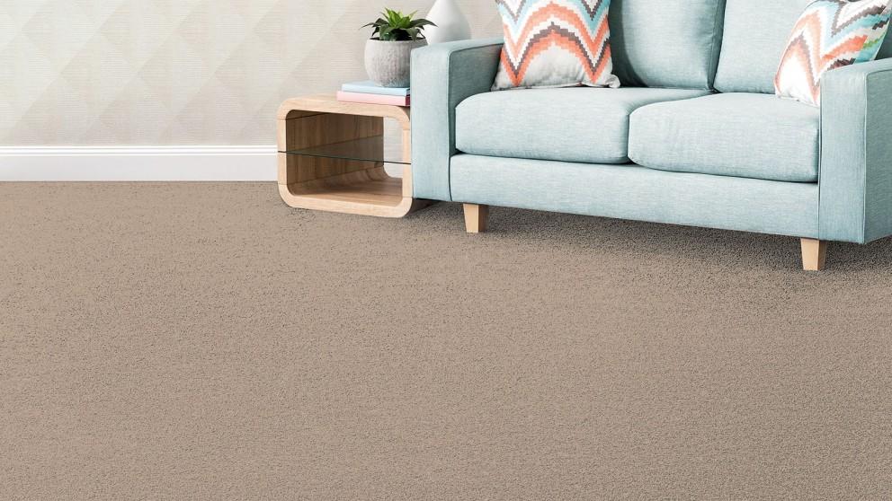 SmartStrand Silk Forever Clean Silk Trends Tonal Alabaster Carpet Flooring