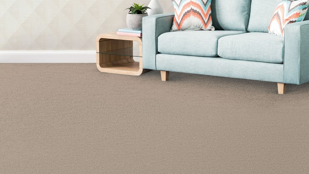 SmartStrand Silk Forever Clean Silk Trends Tonal Ecru Carpet Flooring