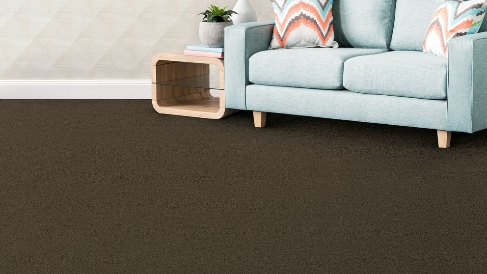 SmartStrand Silk Forever Clean Silk Trends Tonal Rich Walnut Carpet Flooring