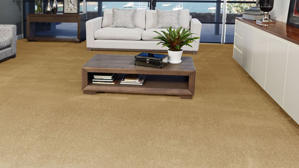 SmartStrand Silk Forever Clean Silk Trends Golden Buff Carpet Flooring