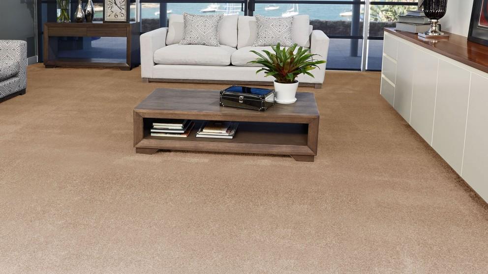 SmartStrand Silk Forever Clean Silk Trends Cedar Beige Carpet Flooring