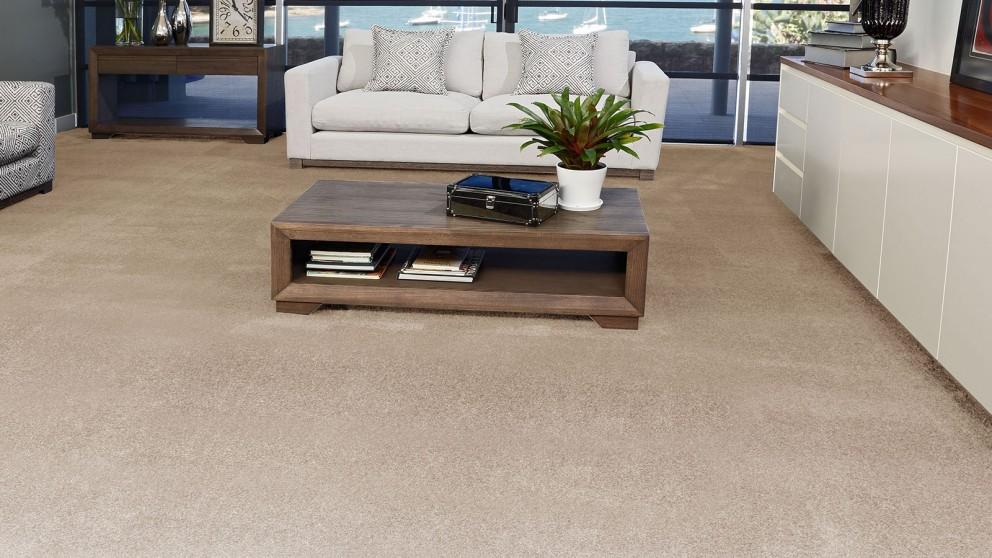 SmartStrand Silk Forever Clean Silk Trends Sandstone Carpet Flooring