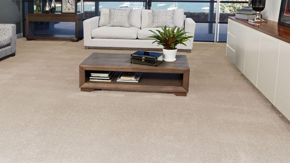 SmartStrand Silk Forever Clean Silk Trends Quiet Neutral Carpet Flooring