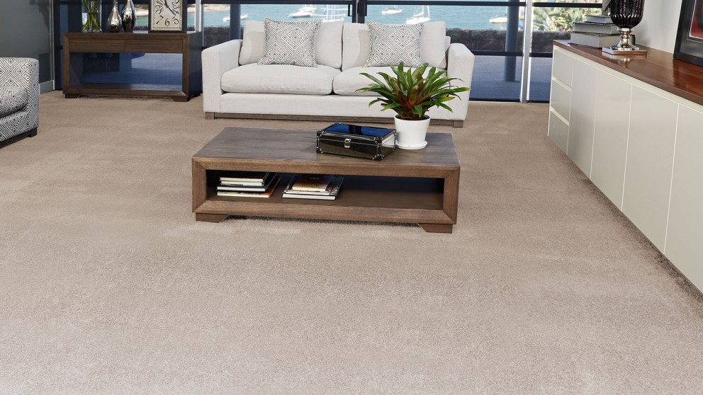 SmartStrand Silk Forever Clean Silk Trends Vintage Cream Carpet Flooring
