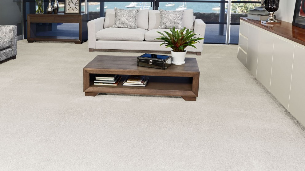 SmartStrand Silk Forever Clean Silk Trends Billowing Clouds Carpet Flooring