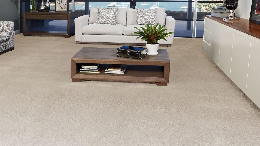 SmartStrand Silk Forever Clean Silk Trends Ivory Luster Carpet Flooring