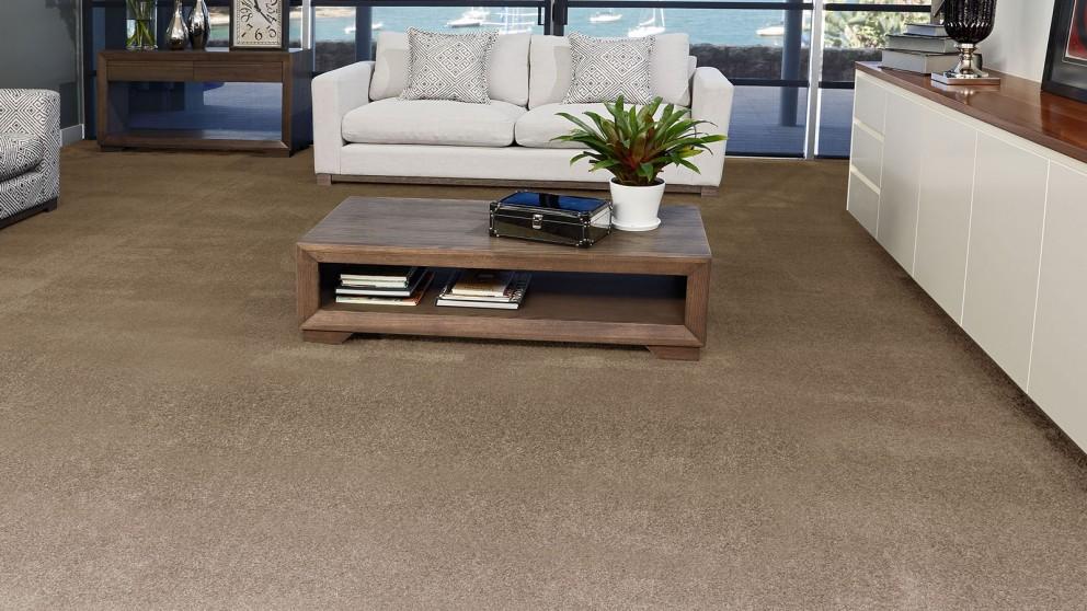 SmartStrand Silk Forever Clean Silk Trends Cocoa Carpet Flooring