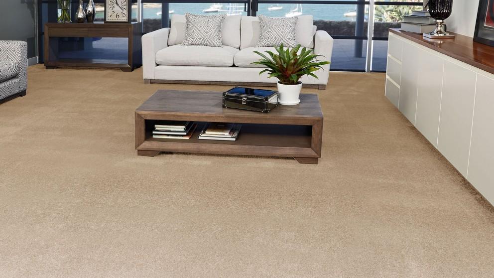 SmartStrand Silk Forever Clean Silk Trends Harvest Straw Carpet Flooring