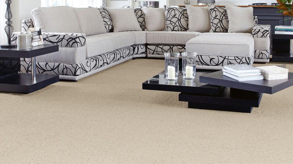 SmartStrand Forever Clean Classic White Pearl Carpet Flooring