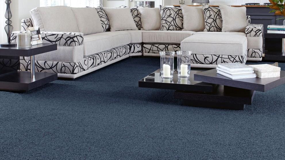 SmartStrand Forever Clean Classic Blue Ribbon Carpet Flooring