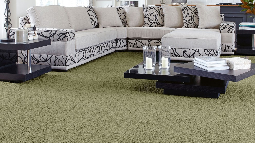 SmartStrand Forever Clean Classic Organic Green Carpet Flooring