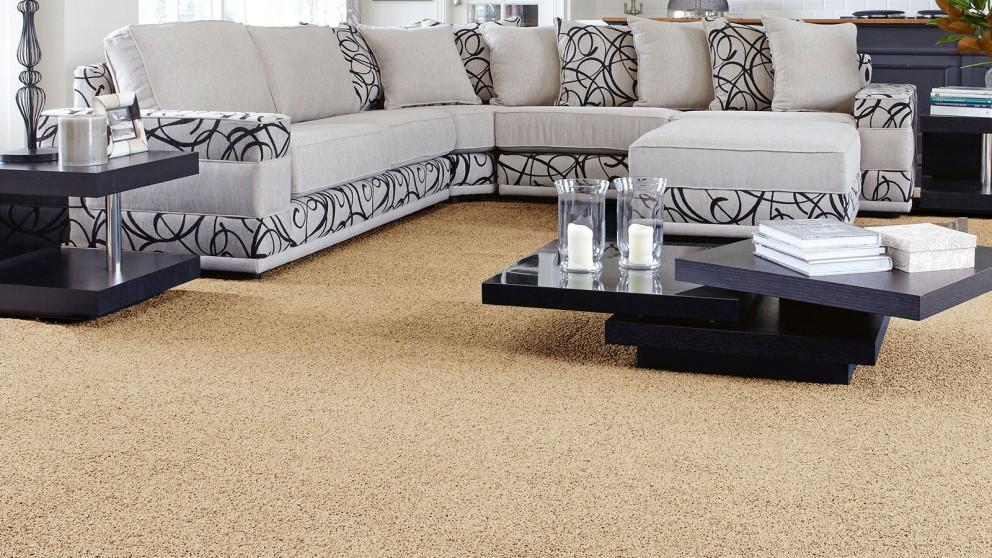 SmartStrand Forever Clean Classic Parchment Carpet Flooring