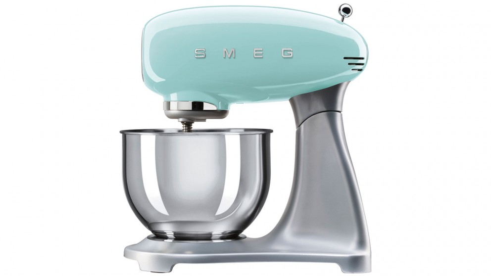Buy smeg 50s style stand mixer harvey norman au for 50s style kitchen appliances