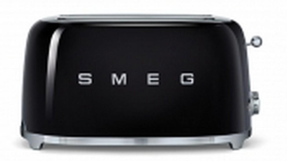 Smeg 50s Style Longslot Toaster - Black