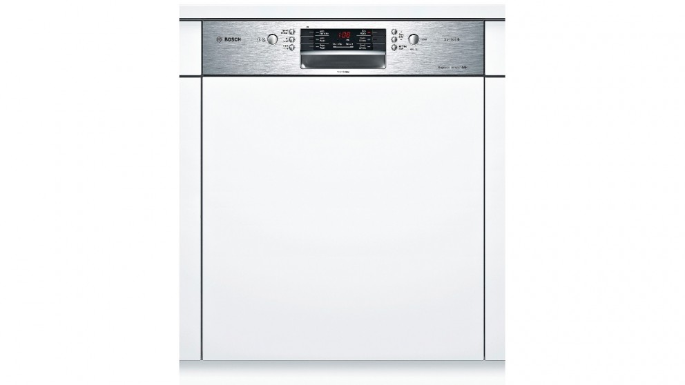Bosch 60cm Semi-integrated Dishwasher - Stainless Steel