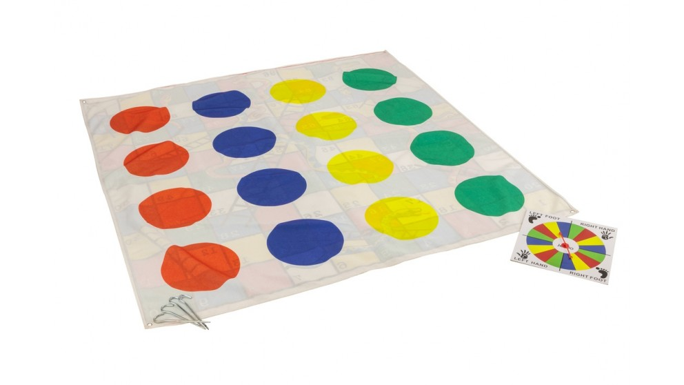 Jenjo 2 In 1 Giant Snakes Dots and Ladders Game