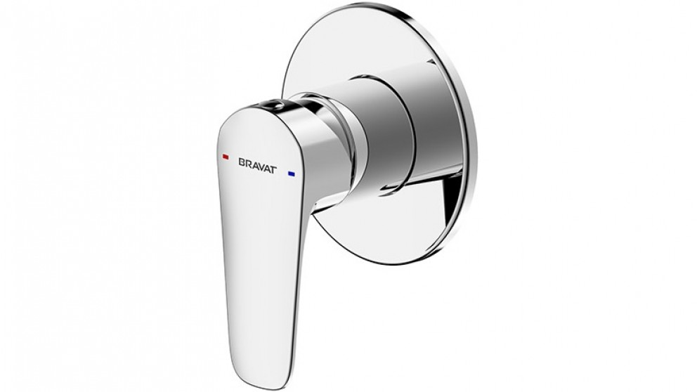 Bravat Source Shower or Bath Mixer - Chrome