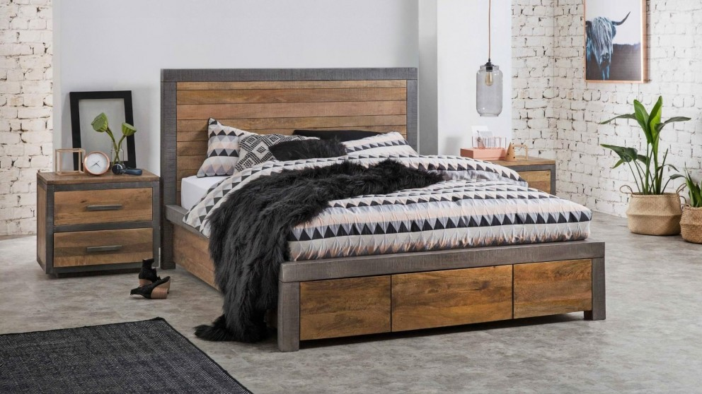 Buy Soho 3 Drawer Bed Harvey Norman Au