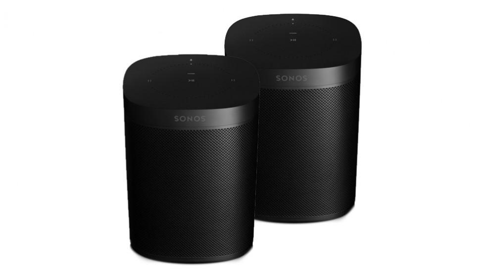 Sonos One Smart Speaker Bundle - Black