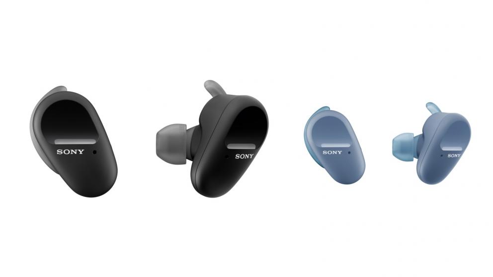 Sony WF-SP800N Truly Wireless Sports In-Ear Headphones