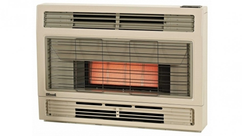Rinnai Spectrum Space Natural Gas Heater Inbuilt  - Beige