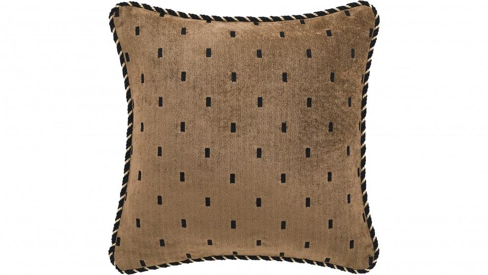 Massimo Gold Square Cushion