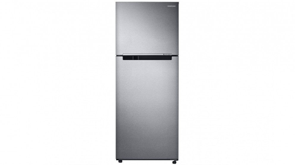 Samsung 400L Top Mount Fridge with Twin Cooling Plus - Silver Layered Steel